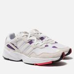 Мужские кроссовки adidas Originals Yung-96 White/Crystal White/Active Purple фото- 2