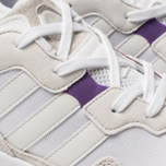 Мужские кроссовки adidas Originals Yung-96 White/Crystal White/Active Purple фото- 6