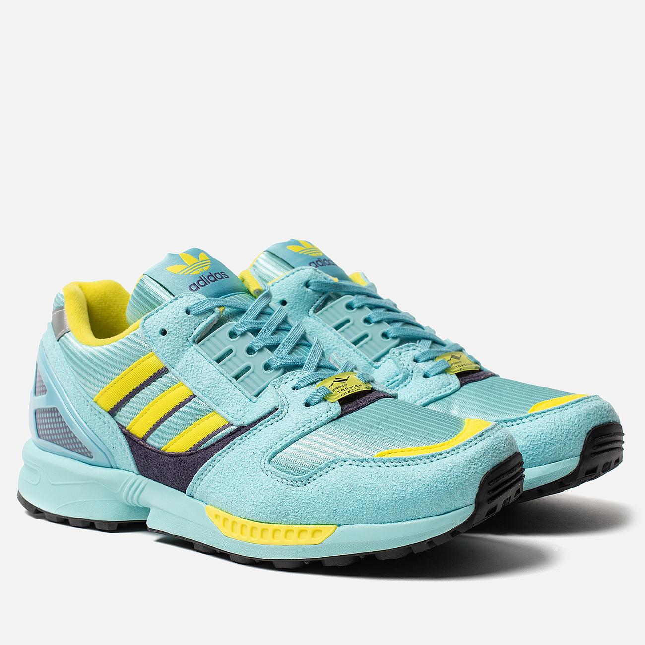 Мужские кроссовки adidas Originals ZX 8000 Clear Aqua/Light Aqua/Shock Yellow