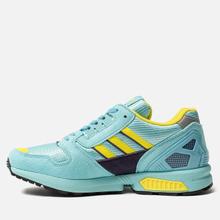 Мужские кроссовки adidas Originals ZX 8000 Clear Aqua/Light Aqua/Shock Yellow фото- 5