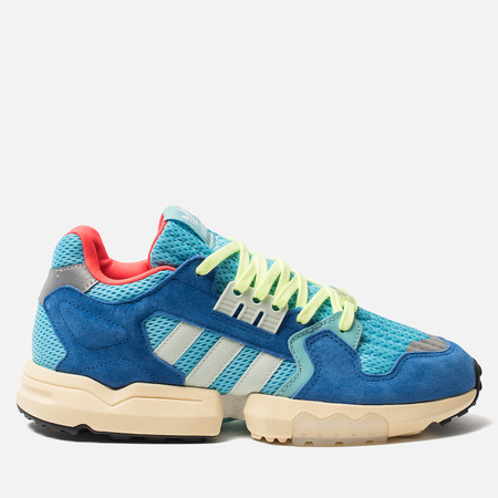Мужские кроссовки adidas Originals ZX Torsion Bright Cyan/Linen Green/Blue
