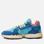 Мужские кроссовки adidas Originals ZX Torsion Bright Cyan/Linen Green/Blue фото- 1