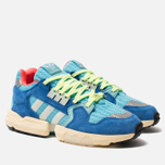 Мужские кроссовки adidas Originals ZX Torsion Bright Cyan/Linen Green/Blue фото- 2