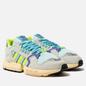 Мужские кроссовки adidas Originals ZX Torsion Clear Aqua/Solar Yellow/Purple фото - 0