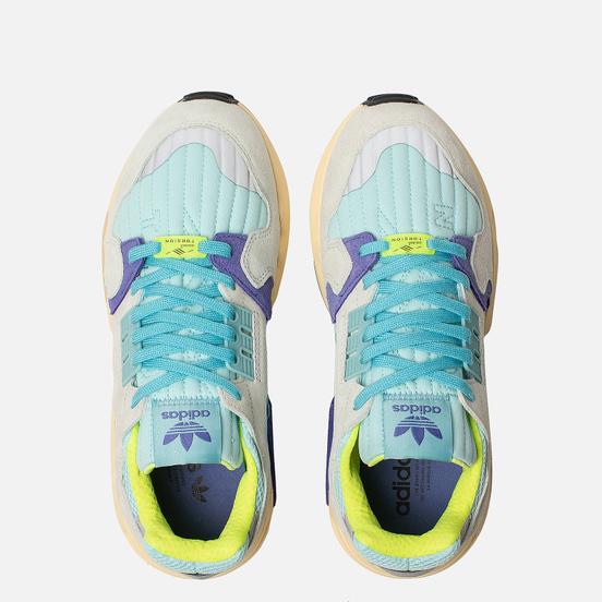 Мужские кроссовки adidas Originals ZX Torsion Clear Aqua/Solar Yellow/Purple