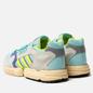 Мужские кроссовки adidas Originals ZX Torsion Clear Aqua/Solar Yellow/Purple фото - 2