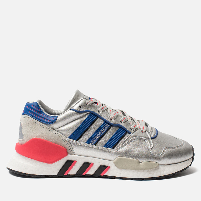 Мужские кроссовки adidas Originals ZX930 x EQT x Micropacer Silver Metallic/Power Blue/Shock Red