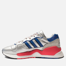 Мужские кроссовки adidas Originals ZX930 x EQT x Micropacer Silver Metallic/Power Blue/Shock Red фото- 3