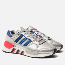 Мужские кроссовки adidas Originals ZX930 x EQT x Micropacer Silver Metallic/Power Blue/Shock Red фото- 0
