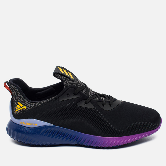 Мужские кроссовки adidas Performance Alphabounce Black/Gold/Purple