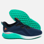 adidas Performance Alphabounce Men's Sneakers Mineral Blue/Solar Red/Shock Green photo- 2