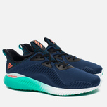 adidas Performance Alphabounce Men's Sneakers Mineral Blue/Solar Red/Shock Green photo- 1
