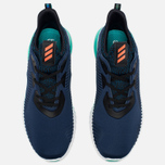 Мужские кроссовки adidas Performance Alphabounce Mineral Blue/Solar Red/Shock Green фото- 4