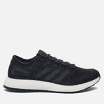 Мужские кроссовки adidas Performance Pure Boost Core Black/Solid Grey/Core Black фото- 0