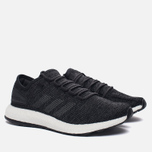 Мужские кроссовки adidas Performance Pure Boost Core Black/Solid Grey/Core Black фото- 1