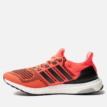 Мужские кроссовки adidas Performance Ultra Boost 1.0 Core Black/Core Black/Solar Red фото- 5