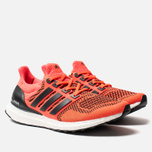 Мужские кроссовки adidas Performance Ultra Boost 1.0 Core Black/Core Black/Solar Red фото- 2