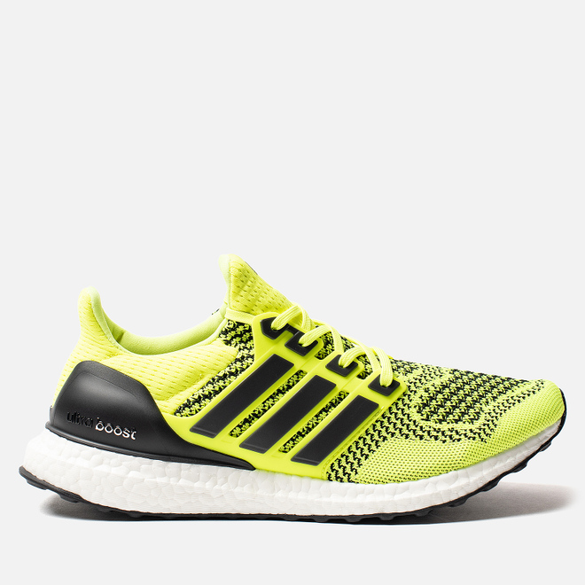Мужские кроссовки adidas Performance Ultra Boost 1.0 Solar Yellow/Solar Yellow/Core Black