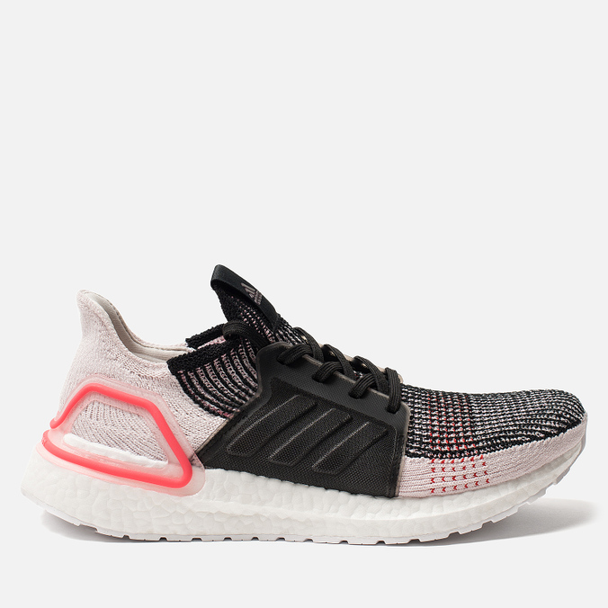 Мужские кроссовки adidas Performance Ultra Boost 19 Core Black/Orchid Tint/Action Red