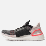 Мужские кроссовки adidas Performance Ultra Boost 19 Core Black/Orchid Tint/Action Red фото- 1