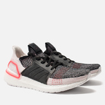 Мужские кроссовки adidas Performance Ultra Boost 19 Core Black/Orchid Tint/Action Red фото- 2