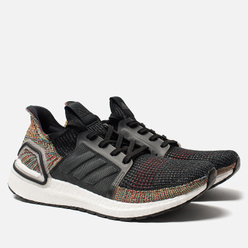 Мужские кроссовки adidas Performance Ultra Boost 19 Grey Six/Core Black/Shock Yellow