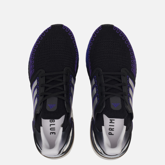 Мужские кроссовки adidas Performance Ultra Boost 20 Core Black/Silver Metallic/Cloud White