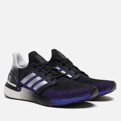 Мужские кроссовки adidas Performance Ultra Boost 20 Core Black/Silver Metallic/Cloud White