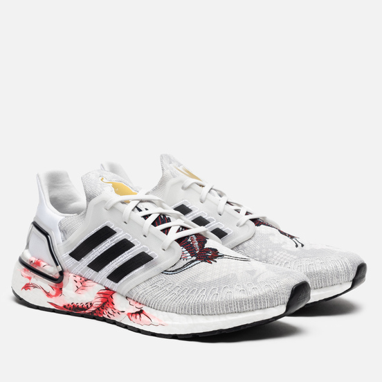 Мужские кроссовки adidas Performance Ultra Boost Chinese New Year 2020 Crystal White/Core Black/Solar Red