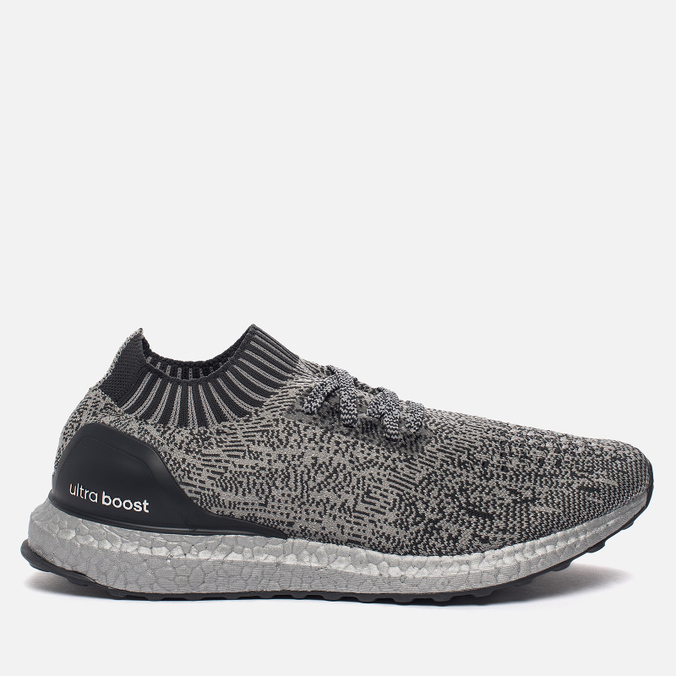 Мужские кроссовки adidas Performance Ultra Boost Uncaged Medium Grey/Dark Grey/Silver Metallic