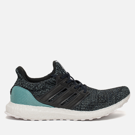 Мужские кроссовки adidas Performance x Parley Ultra Boost Carbon/Carbon/Blue Spirit