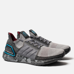 Мужские кроссовки adidas Performance x Star Wars Ultra Boost 19 Grey/Grey Two/Bright Cyan