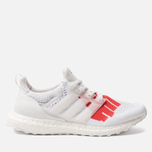 Мужские кроссовки adidas Performance x Undefeated Ultra Boost White/White/Red фото- 0