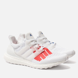 Мужские кроссовки adidas Performance x Undefeated Ultra Boost White/White/Red фото- 2