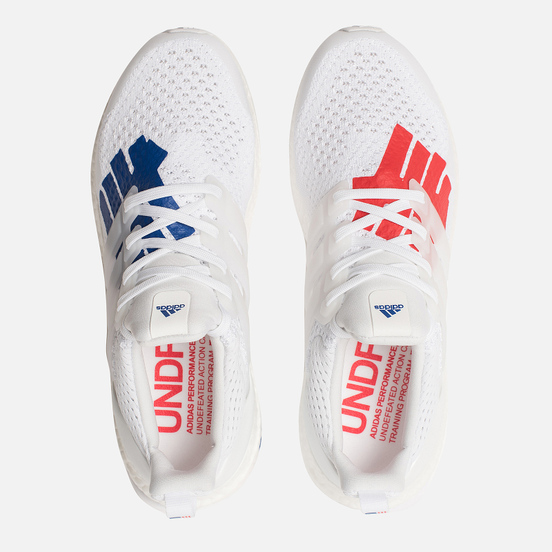 Мужские кроссовки adidas Performance x Undefeated Ultra Boost White/White/Red