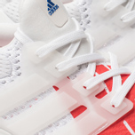 Мужские кроссовки adidas Performance x Undefeated Ultra Boost White/White/Red фото- 6