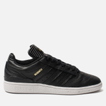 Мужские кроссовки adidas Skateboarding Busenitz Core Black/Gold Metallic/White фото- 0