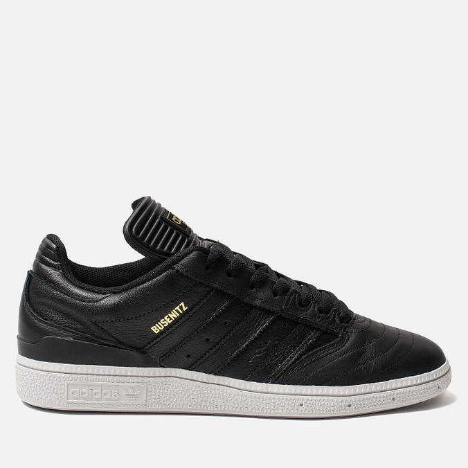 Мужские кроссовки adidas Skateboarding Busenitz Core Black/Gold Metallic/White
