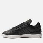 Мужские кроссовки adidas Skateboarding Busenitz Core Black/Gold Metallic/White фото- 1