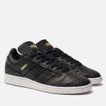 Мужские кроссовки adidas Skateboarding Busenitz Core Black/Gold Metallic/White фото- 2
