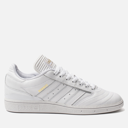 Мужские кроссовки adidas Skateboarding Busenitz White/Gold Metallic/White