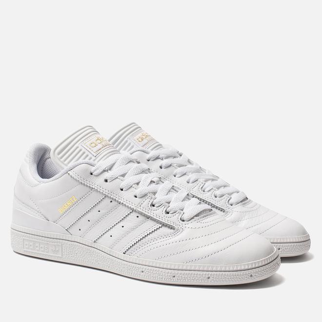 Мужские кроссовки adidas Skateboarding Busenitz White/Gold Metallic/White