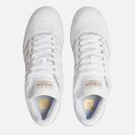 Мужские кроссовки adidas Skateboarding Busenitz White/Gold Metallic/White фото- 5