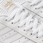 Мужские кроссовки adidas Skateboarding Busenitz White/Gold Metallic/White фото- 6