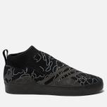 Мужские кроссовки adidas Snowboarding x Bape 3ST.002 Core Black/Black/White фото- 0