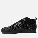 Мужские кроссовки adidas Snowboarding x Bape 3ST.002 Core Black/Black/White фото- 1