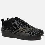 Мужские кроссовки adidas Snowboarding x Bape 3ST.002 Core Black/Black/White фото- 2