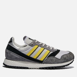 Мужские кроссовки adidas Spezial Ashurst Grey One/Yellow/Core Black