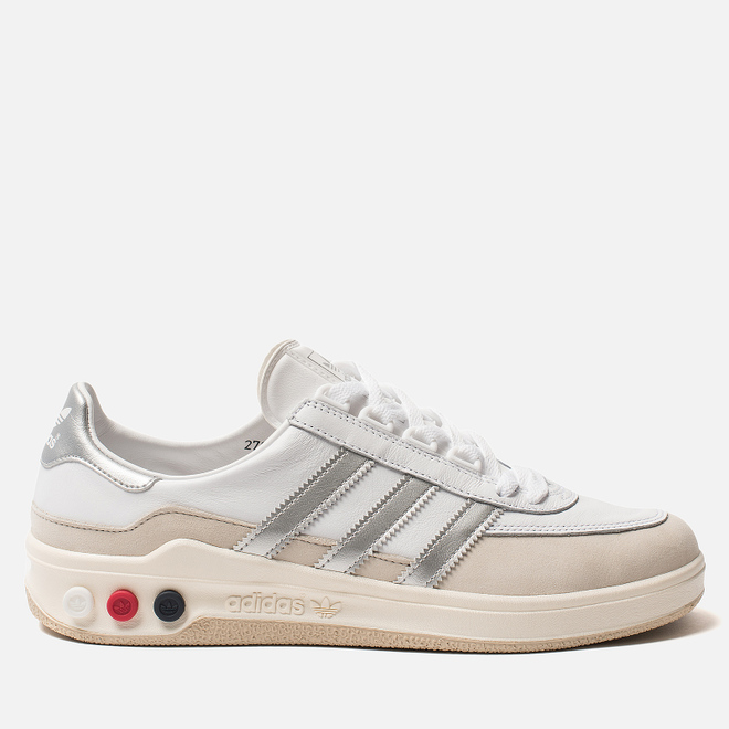 Мужские кроссовки adidas Spezial GLXY White/Silver Metallic/Off White