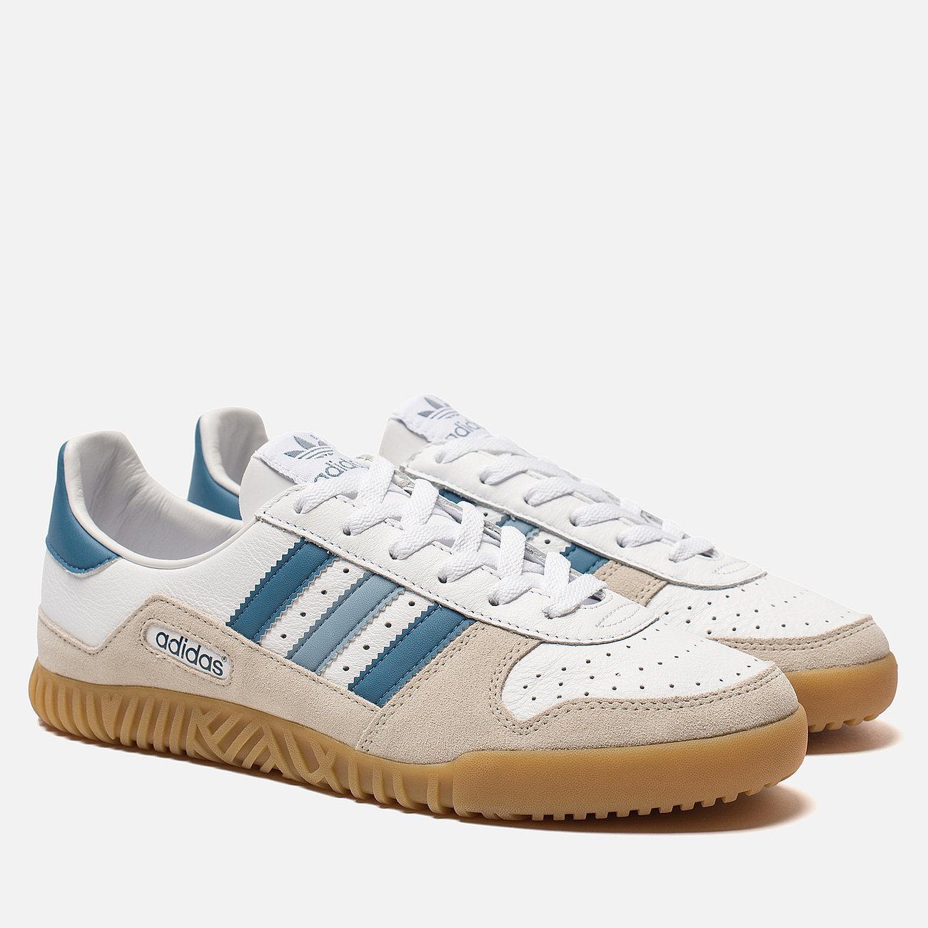 Мужские кроссовки adidas Spezial Indoor Comp White/Supplier Colour/Clear Brown